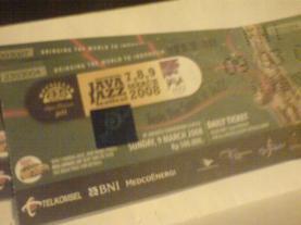 tiket java jazz2008